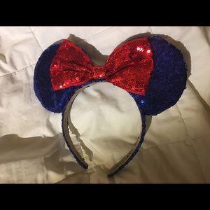 Disney Ears Blue sequin